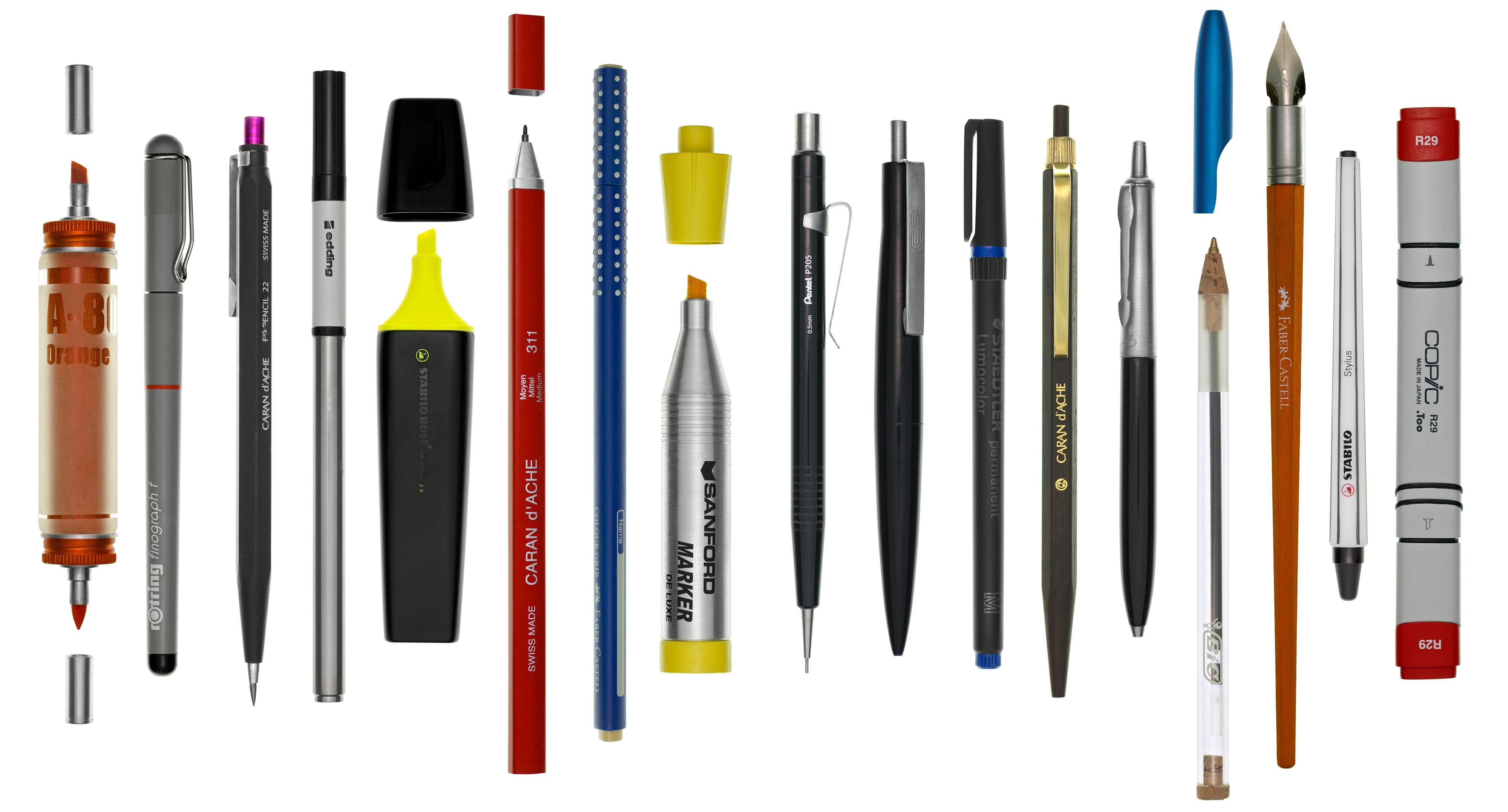 Produktfotografie Schreibgeräte