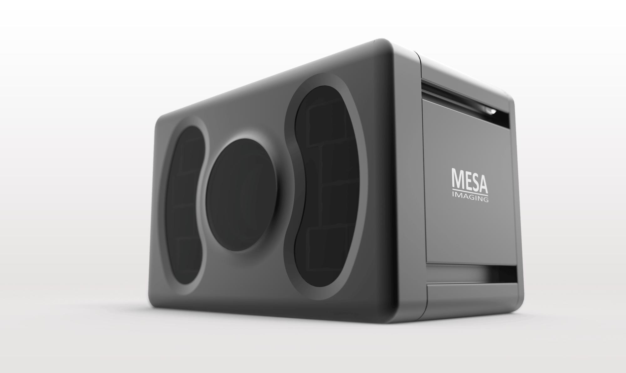 3D Kameragehäuse für MESA Imaging